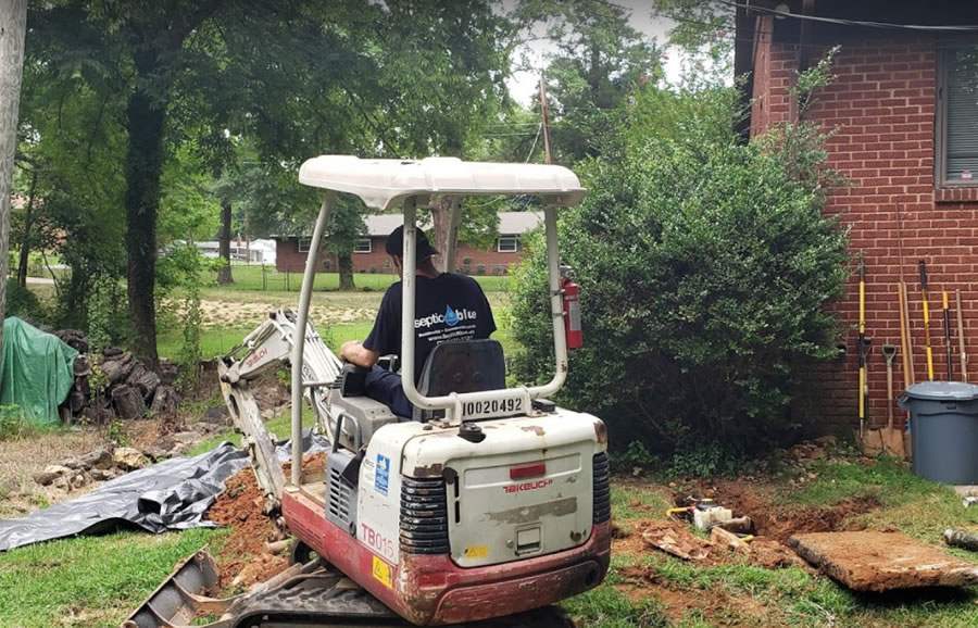 Septic Tank Installation in Concord