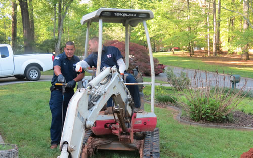 Septic Tank Repair in Huntersville, NC